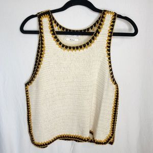 Crochet Top from MANGO size M